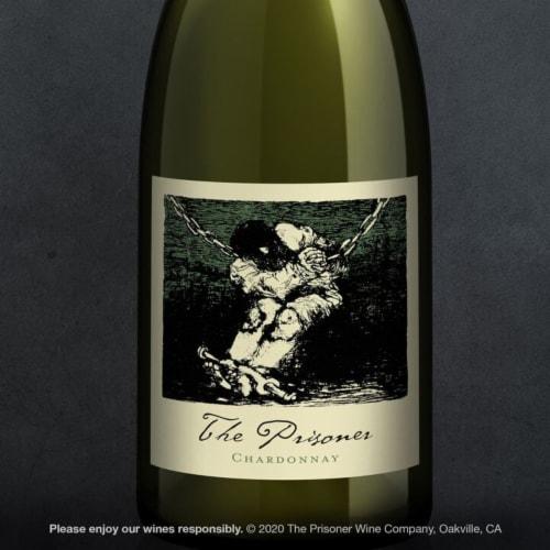 The Prisoner Wine Co. Napa Valley Chardonnay White Wine Perspective: top