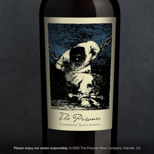 The Prisoner Wine Co. Cabernet Sauvignon Red Wine Perspective: top