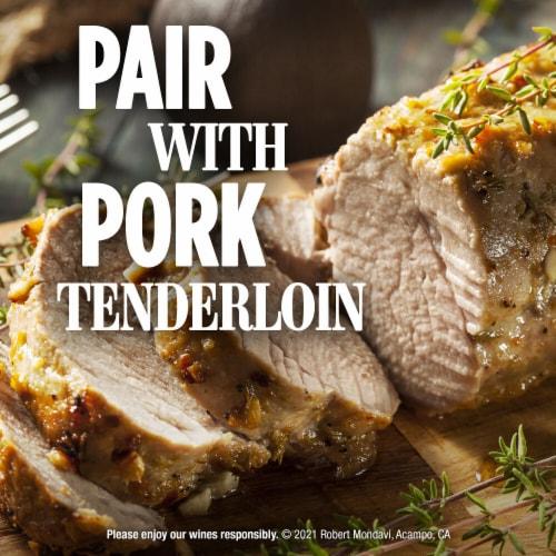 Robert Mondavi Private Selection Bourbon Barrel Aged Chardonnay White Wine Perspective: top