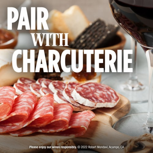 Robert Mondavi Private Selection Rye Barrel Aged Red Blend Wine Perspective: top