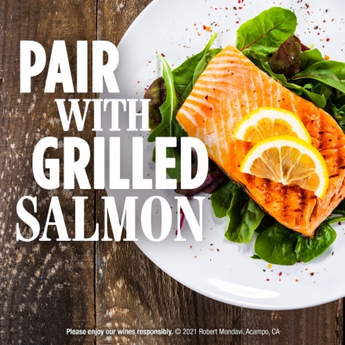 Robert Mondavi Private Selection Buttery Chardonnay White Wine Perspective: top