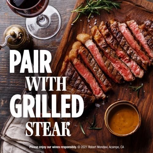 Robert Mondavi Private Selection 100% Cabernet Sauvignon Red Wine Perspective: top