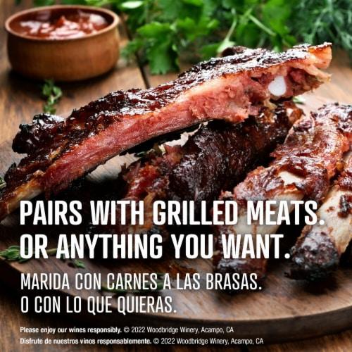 Woodbridge By Robert Mondavi Cabernet Sauvignon Red Wine Perspective: top