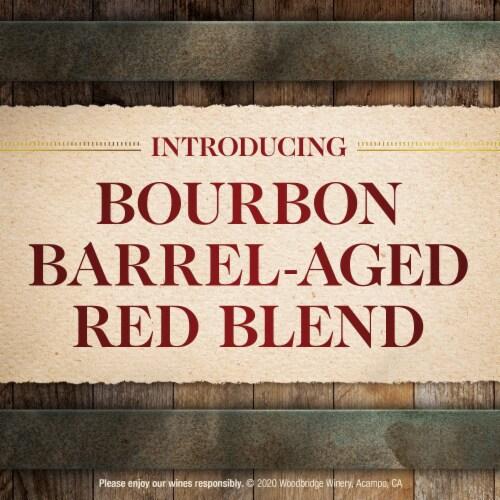 Woodbridge by Robert Mondavi Bourbon Barrel Aged Red Blend Wine Perspective: top