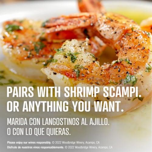 Woodbridge by Robert Mondavi Buttery Chardonnay White Wine Perspective: top