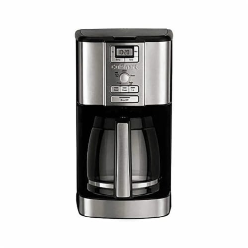 Cuisinart 14 Cup Brew Central Programmable Coffee Maker (Certified Refurbished) Perspective: top
