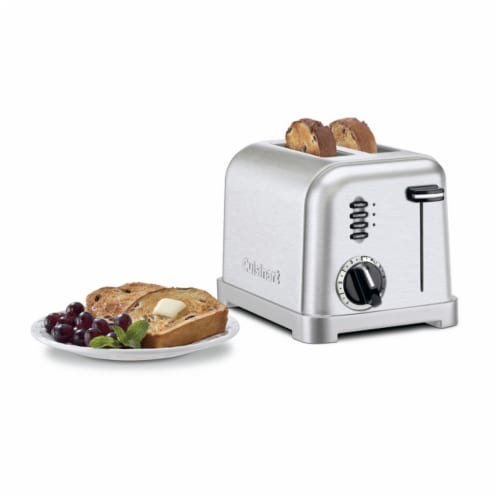 Cuisinart Metal Classic 2-Slice Toaster - Silver Perspective: top