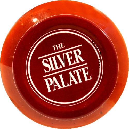 Silver Plate Low Sodium Marinara Perspective: top
