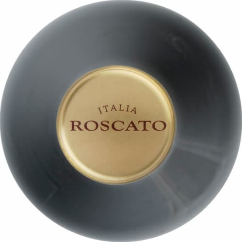 Roscato Italy Gold Sweet Red Wine Perspective: top