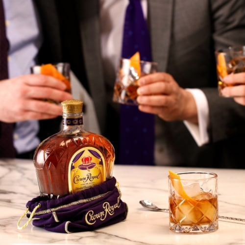 Crown Royal Blended Canadian Whisky Perspective: top