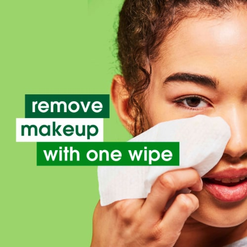 Simple Micellar Makeup Remover Wipes Perspective: top