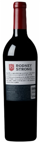 Rodney Strong Merlot Red Wine Perspective: top