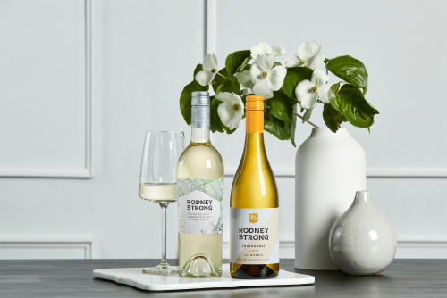 Rodney Strong Charlotte's Home Sauvignon Blanc White Wine Perspective: top