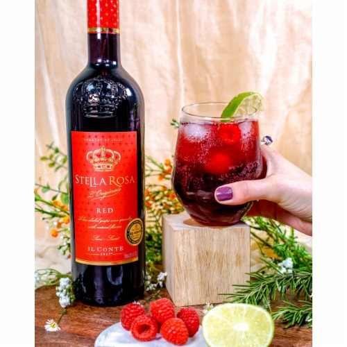 Stella Rosa Red Wine Perspective: top