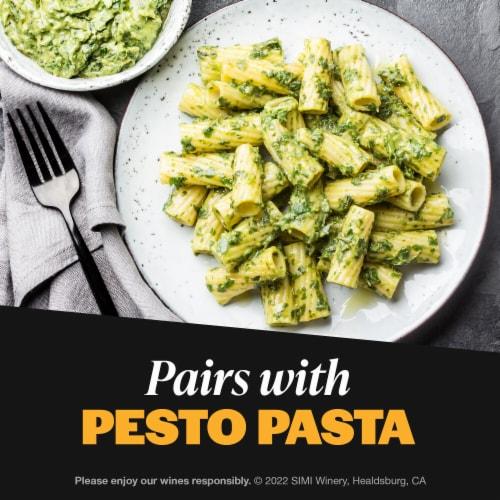 Simi Winery Sonoma County Sauvignon Blanc White Wine Perspective: top