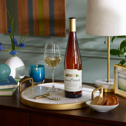 Chateau Ste. Michelle Harvest Select Riesling White Wine Perspective: top