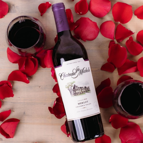 Chateau Ste. Michelle Merlot Red Wine Perspective: top