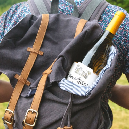 Chateau Ste Michelle Chardonnay White Wine Perspective: top