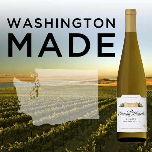 Chateau Ste Michelle Riesling White Wine Perspective: top