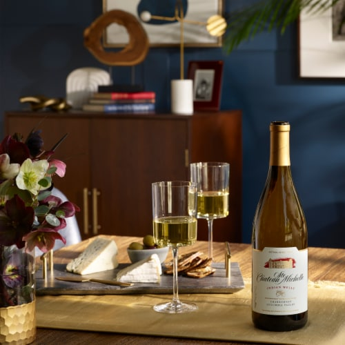 Chateau Ste Michelle Indian Wells Chardonnay White Wine Perspective: top