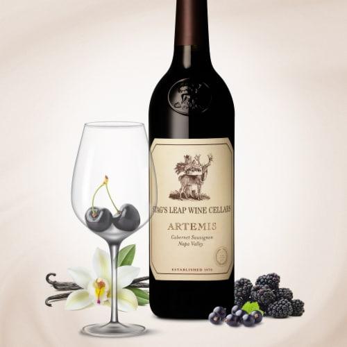 Stag's Leap Artemis Cabernet Sauvignon Red Wine Perspective: top