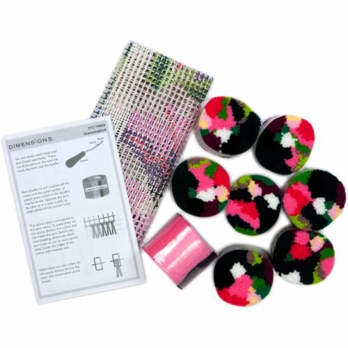 Dimensions® Hummingbird Latch Hook Kit Perspective: top