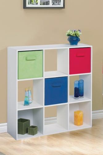 ClosetMaid Cubeicals Multi-Purpose Fabric Storage Bin - Royal Blue Perspective: top
