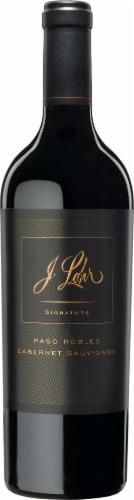 J. Lohr Signature Cabernet Sauvignon Red Wine Perspective: top