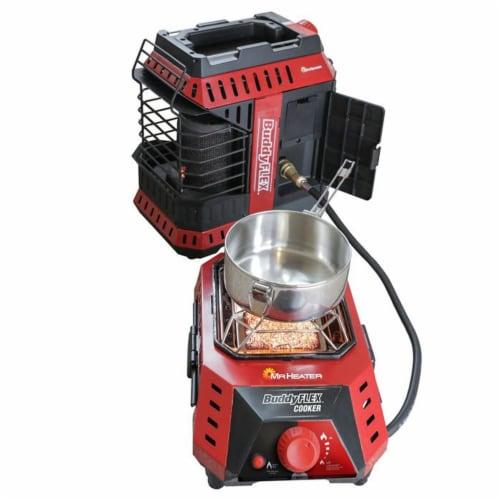 Mr. Heater 11,000 BTU Buddy FLEX Liquid Propane Portable Radiant Space Heater Perspective: top