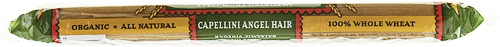 Racconto Bella Terra Organic Whole Wheat Capellini Angel Hair Perspective: top