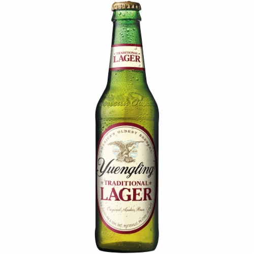 Yuengling Traditional Lager Perspective: top