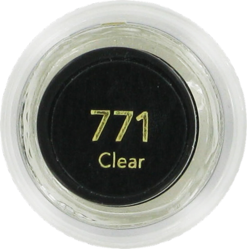 Revlon Creme Clear Nail Polish Perspective: top