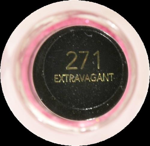 Revlon Extravagant Nail Enamel Perspective: top