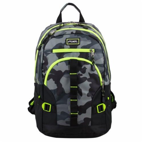 Fuel Dynamo Backpack - Army Camo Grey Perspective: top
