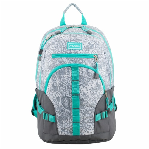 Fuel Dynamo Backpack - Henna Paisley Perspective: top