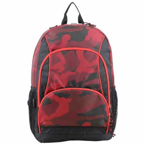 Fuel Triple Decker Backpack - Red Army Camo Perspective: top