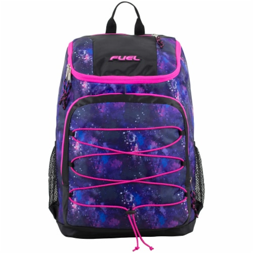 Fuel Wide Mouth Bungee Backpack - Galaxy Perspective: top