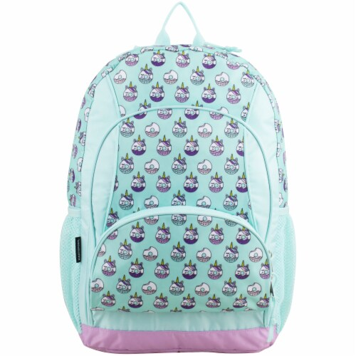 Fuel Unicorn Donuts Triple Decker Backpack Perspective: top