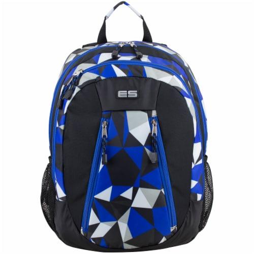 Eastsport Active 2.0 Backpack - Cobalt Splash/Clear Geo Perspective: top
