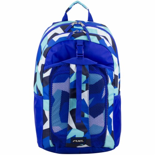 Fuel Deluxe Lunch Bag & Backpack Combo - Jagged Shapes Perspective: top