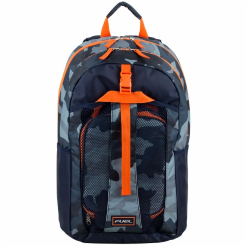 Fuel Deluxe Lunch Bag & Backpack Combo - Midnight Camo Perspective: top