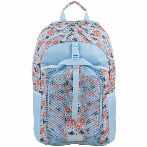 Fuel Deluxe Lunch Bag & Backpack Combo - Ditsy Foral Perspective: top