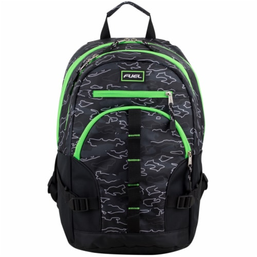 Fuel Dynamo Backpack - Camo Outline Perspective: top