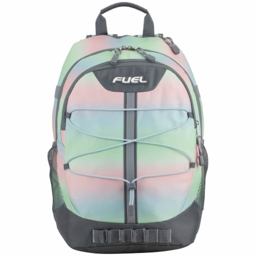 Fuel Pastel Ombre Terra Sport Bungee Backpack Perspective: top