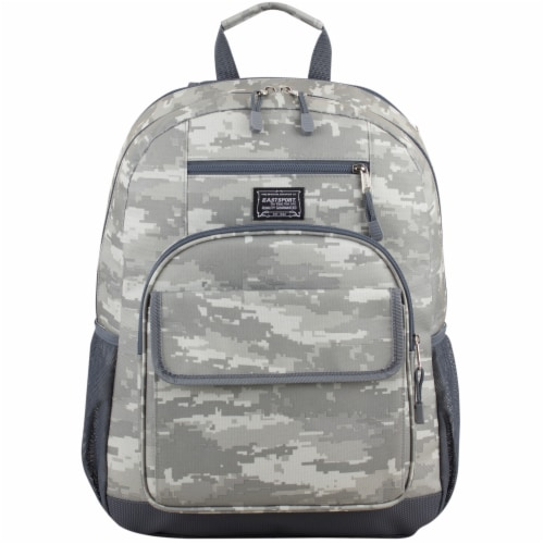 Eastport Static Camo Future Tech Backpack Perspective: top