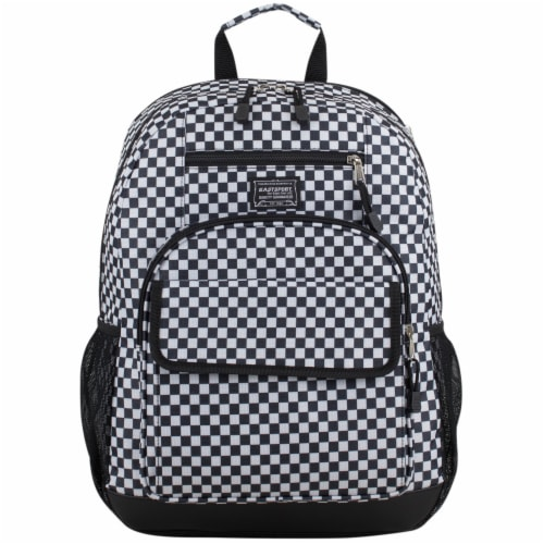 Eastsport Future Tech Backpack - Checker Plaid Perspective: top