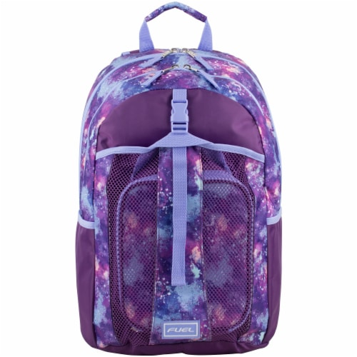 Fuel Deluxe Lunch Bag & Backpack Combo - Galaxy Perspective: top