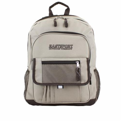 Eastsport Basic Tech Backpack - Moonrock Perspective: top