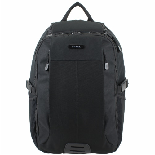 Fuel Force Defender Tech Backpack - Black Perspective: top