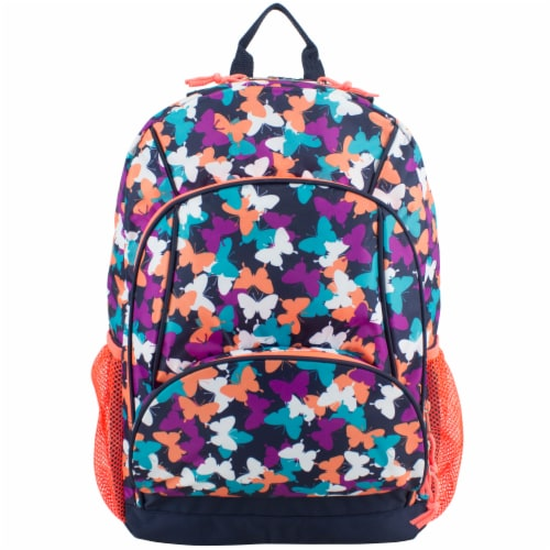 Fuel Triple Decker Backpack - Butterfly Solid Perspective: top